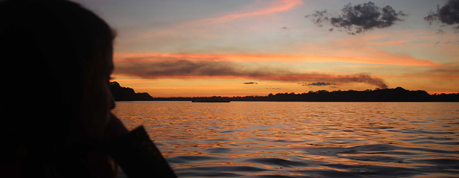 Peru Amazon Sunset