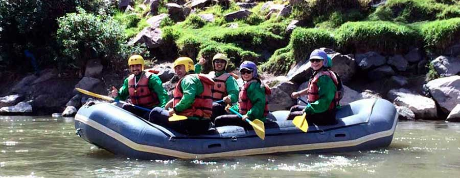 White Water Rafting Sacred Valley